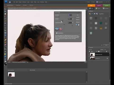Photoshop Elements Refine Edges Feathering