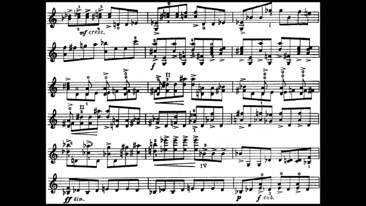 Shostakovich Violin Concerto No. 1 Op. 99 (Cadenza)(Hilary Hahn)