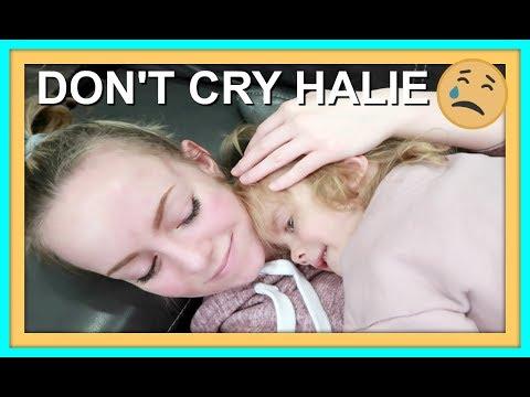 ALLERGY TEST | DON'T CRY HALIE