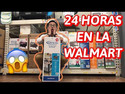 24 HORAS EN WALMART FUNCIONA😱(Jordy Vlogs)