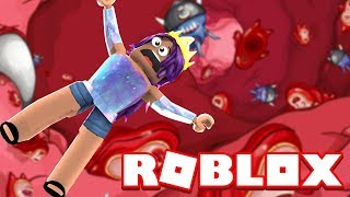 Escaping From Inside Bob!   Roblox Obby