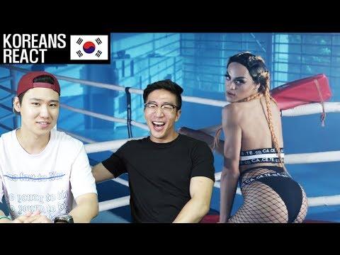 Koreans React to PABLLO VITTAR - K.O.!
