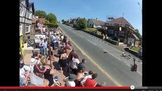 Bray Hill TT Crash - Actual incident - New Footage from TT2013 - Two angles