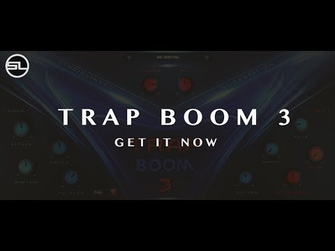 Trap boom 3 vst au inspired by metro boomin mike will for Dikte trapboom