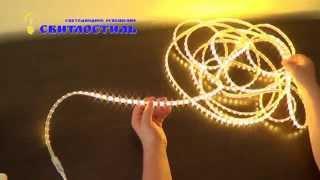 Светодиодная лента 220В SMD3528 60 диодов на метр(Светодиодная лента 220В SMD3528 60 диодов на метр, реализуемая компанией