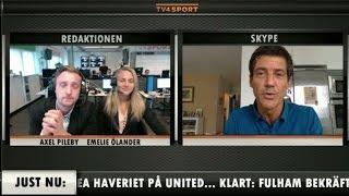 Frederic Pavlidis berättar om nya Fotbollskanalen Headlines - TV4 Sport
