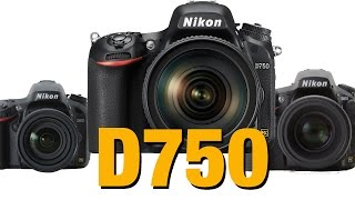 Nikon D750 - Review & ISO testing vs D610 vs D810