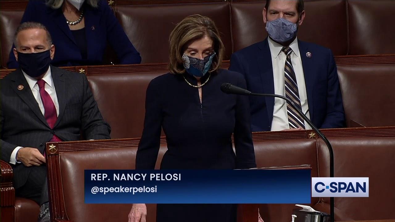 "House Speaker Nancy Pelosi on Impeachment of President Trump: ""He must go."""