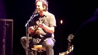 Watch Eddie Vedder Soon Forget video