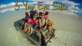 Around the World in 360° Degrees - 3 Year Epic Selfie(600 Days Around the World with a GoPro on a stick! In the most epic selfie ever! Don't forget to watch Part II here: https://youtu.be/sR6Kaq526Zc Follow Me!, 2014-05-06T17:13:04.000Z)