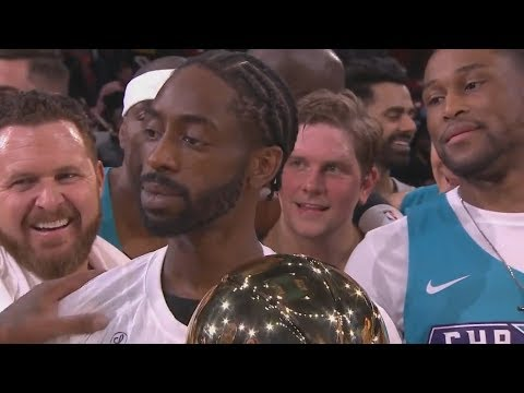 NBA All-Star Celebrity Game 2019! Famous Los MVP, Ray Allen, Quavo