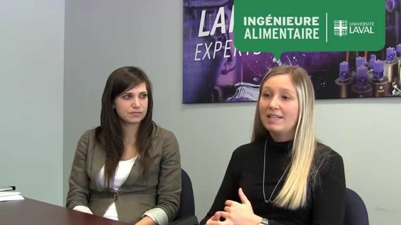 Andrée-Anne Verreault et Véronique Vaugeois-Picard, ingénieures alimentaire