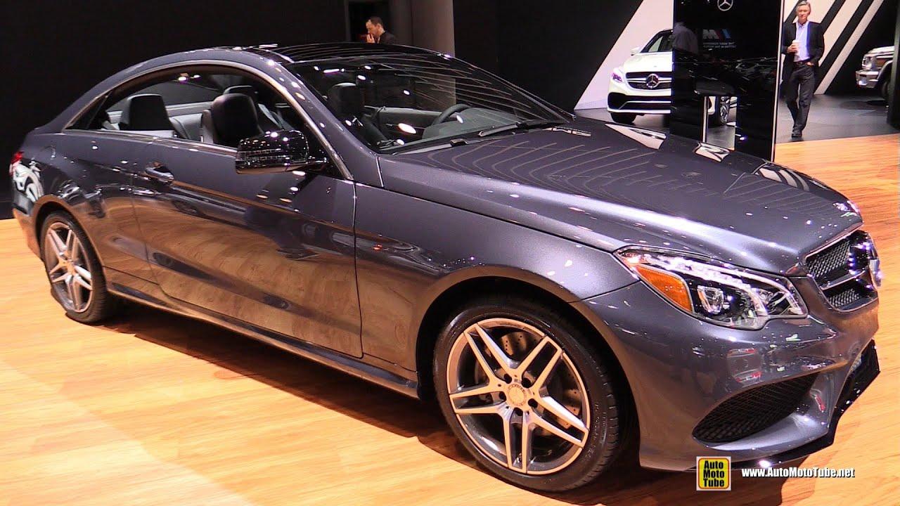 2015 mercedes benz e550 coupe exterior and interior for Mercedes benz e550 coupe