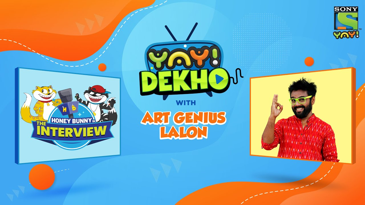 Honey Bunny in The Interview | New Movie | YAY! Dekho with Art Genius Lalon