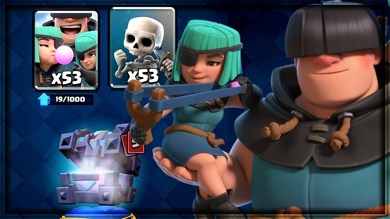 Clash Royale - RASCALS GEMMING! Lucky Chests