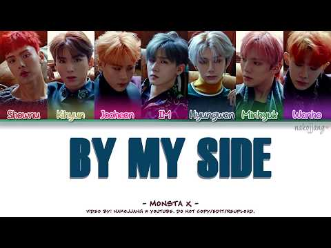 MONSTA X (몬스타엑스) – BY MY SIDE (Coded Lyrics Eng/Rom/Han/가사)