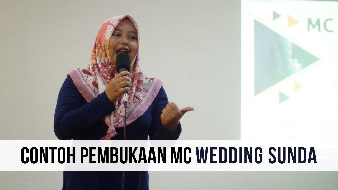 Contoh Pembukaan Mc Wedding Sunda Anita Desyawati Youtube