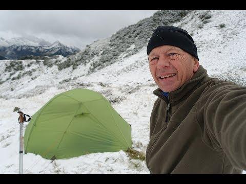 Trekking Bregenzerwald Sept  2017-  Tag 2/4  Biwak Im MSR Hoop Wildcamping