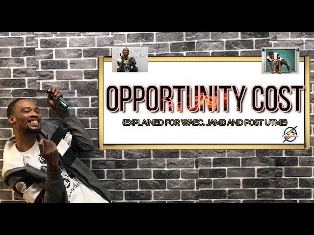 Opportunity Cost Explained | Social Science