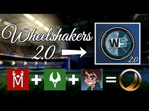 WHEELSHAKERS 2.0 GAMEPLAY | Ranked 3s with Jake & Loconate (Rocket League) thumbnail