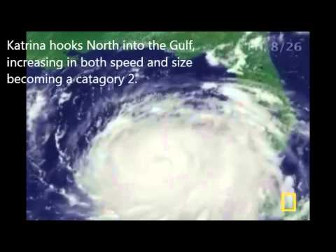 Hurricane Katrina case study for GCSE