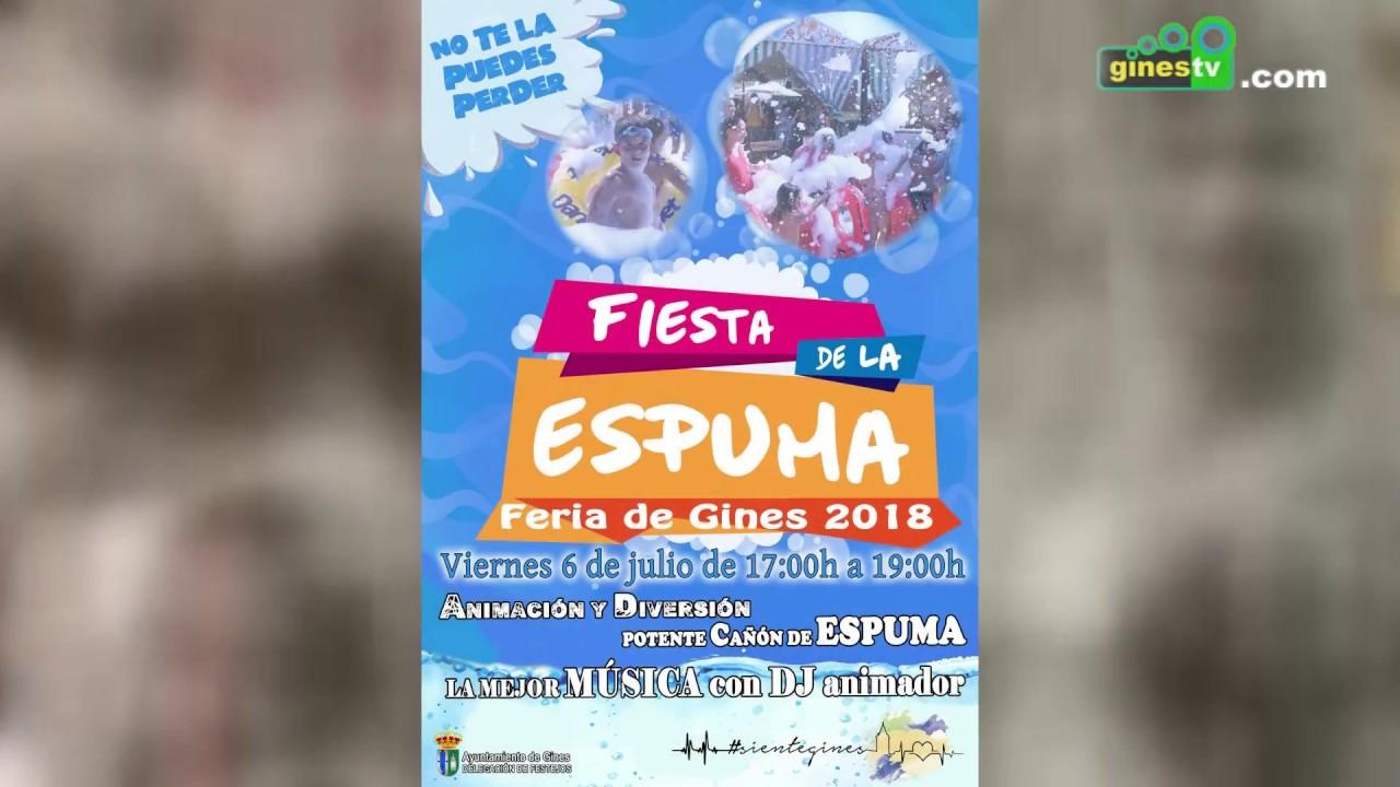 El viernes de Feria disfruta de la diversión más refrescante con la Fiesta de la Espuma