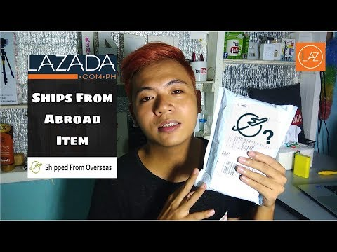 My 1st Ever Ships From Abroad Item From Lazada Unboxing Review