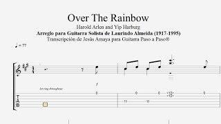 Over the Rainbow - L. Almeida - Tablatura por Jesús Amaya...