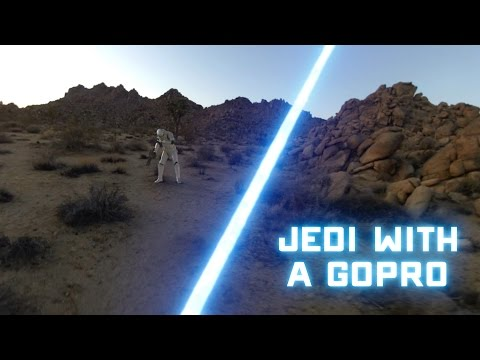 Strapping a GoPro to a Jedi is just as wonderful as you'd expect