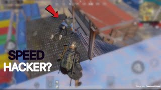 Speed Hacker Spotted? | PUBG Mobile | Suspicious Player!