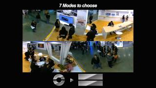 3S Vision Fisheye Network Camera Feature Video