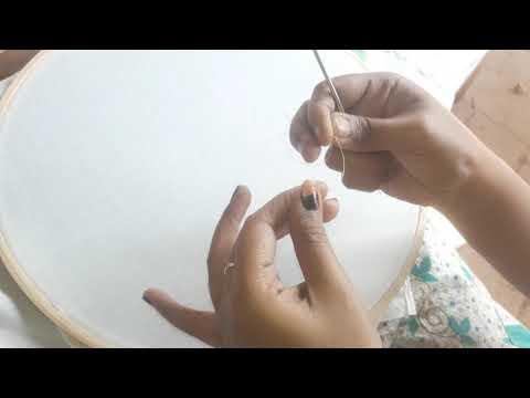 Aari work for beginners tutorial 01