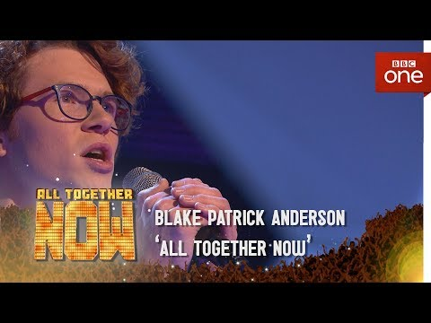 Blake Patrick Anderson performs 'Chandelier' by Sia - All Together Now: Episode 3 - BBC One