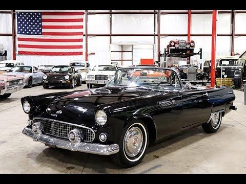 1955 Ford Thunderbird Black