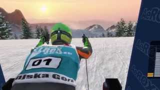 Alpine Ski Racing 2007: Bode Miller vs. Hermann Maier - Kafanski Review