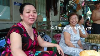 Vietnam || Ta Nien Village Market || Kien Giang Province