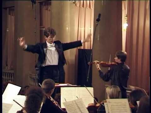 Glazunov: Concerto for Violin in A minor, Op. 82, Artist: Mikhail Krutick; Conductor: Roman Leontiev