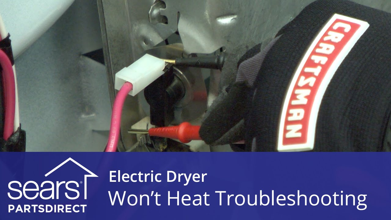Dryer Wont Heat Troubleshooting Electric Problems Youtube To Do Electrical Of Motor Control Circuit