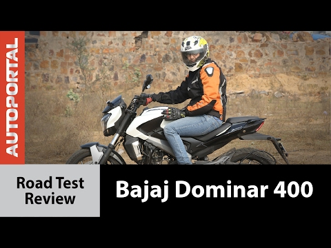 Bajaj Dominar 400 Test Ride Review - Autoportal