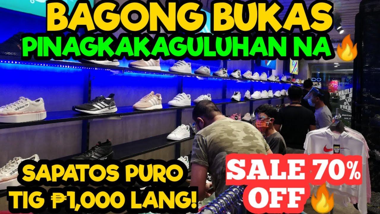 Bagong Bukas Dinumog Agad! Daig Pa Ang NIKE & ADIDAS OUTLET STORE? Sale 70% off! Ft. Nars Lagalag