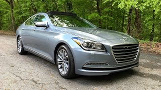 2016 Hyundai Genesis 3.8 HTRAC Redline Review смотреть