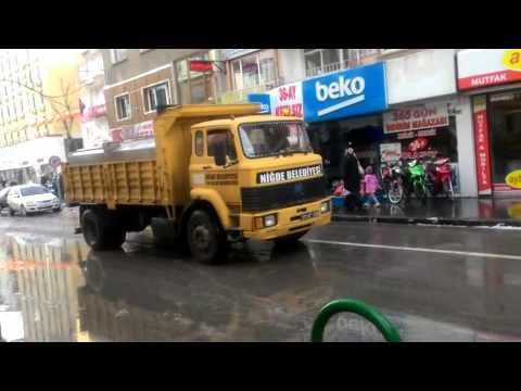Kar ekipleri şehrin dört bir yanında Paşakapı (video)