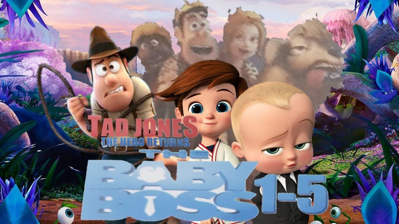 The Boss Baby 1 5 Tad Jones The Hero Returns Dvd Menu 2019 Youtube