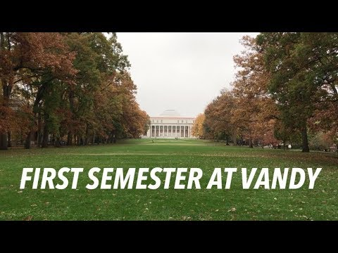 My First Semester at Vanderbilt University
