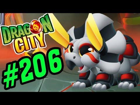 Dragon City Game Mobile - Dual Blade Dragon Tam Giác Long Siêu Dễ Thương - Game Nông Trại Rồng #206