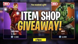 Fortnite Fridays Item Shop Giveaway Live - Custom Code - 'king1' - DC'd #2