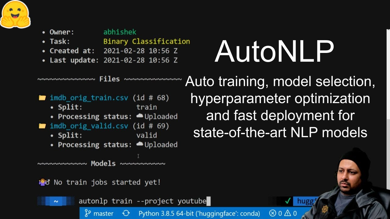 AutoNLP Preview: Auto model-selection, fine-tuning and deployment of state-of-the-art NLP models