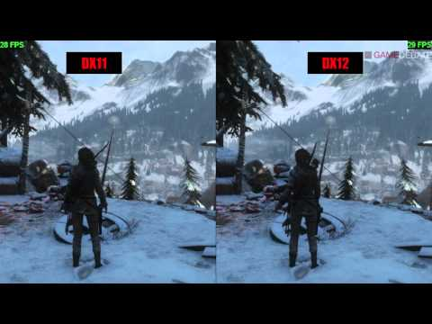 Rise of the Tomb Raider PC DirectX 11 vs DirectX 12 Performance