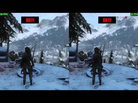 Rise of the Tomb Raider PC DirectX 11 vs DirectX 12