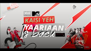 Kaisi yeh yaariyan title song | Niti taylor shares an instant happiness for all yaariyan fans|
